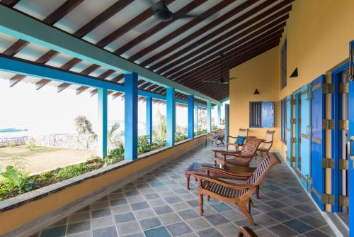 Villa Atulya at Ocean's edge